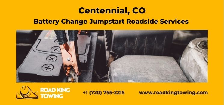 Battery Change Jumpstart Roadside Services Centennial Co - Best Battery Change Jumpstart Roadside Service Company in Centennial